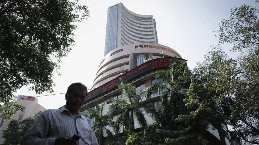 Sensex cracks over 300 pts, Nifty drops below 10,700