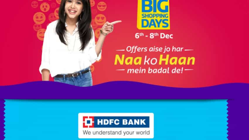 Flipkart Big Billion Days sale: HDFC Bank offers this much discount on phone you desire, but there's a catch
