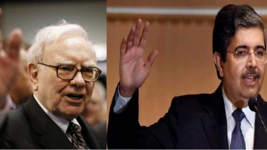 Has Warren Buffett found love for Uday Kotak's bank? Berkshire Hathaway to buy stake; Guess what! Kotak Mahindra Bank denies, shares skyrocket