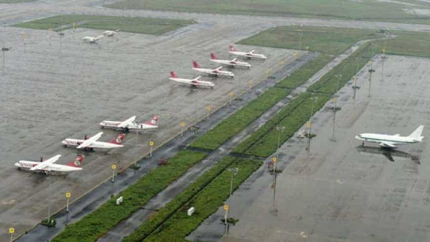 Himachal CM surveys international airport site in Balh, Mandi district