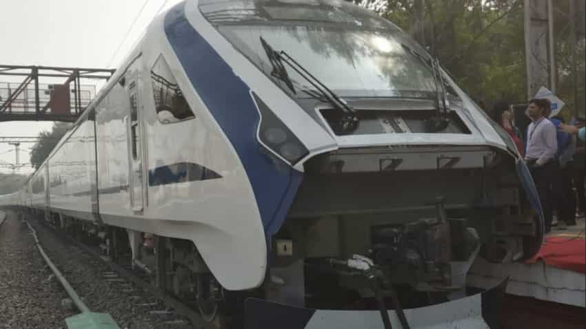 Meet Train 18's 'little sister':  Indian Railways' new EMU undergoes trial; Check details