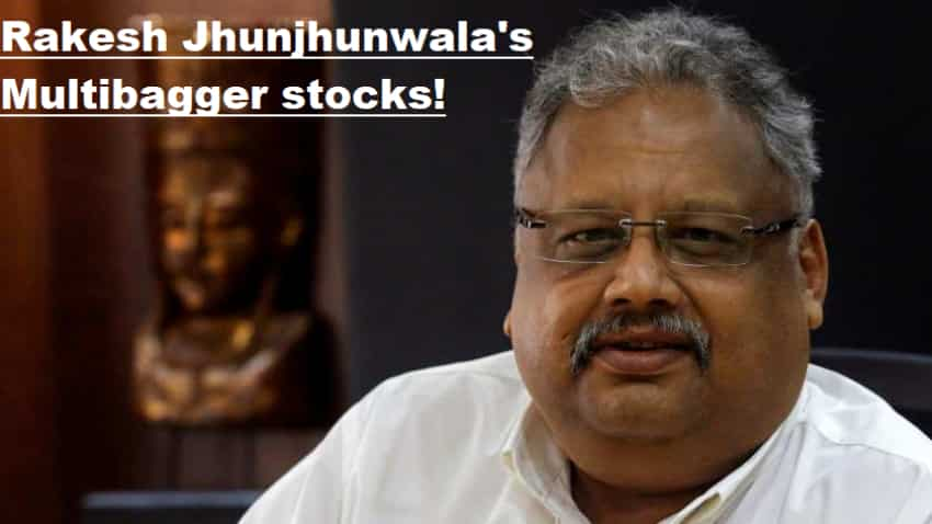 Four stocks where Rakesh Jhunjhunwala holds half his wealth; did you invest in them? They are multibaggers going forward