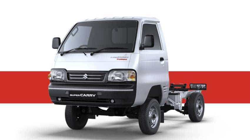 Maruti Suzuki to recall 5900 Super Carry vehicles for inspection, replacing faulty parts