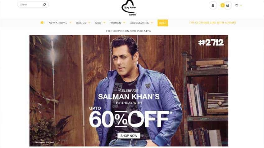 Salman Khan birthday: Massive discounts on Being Human products as 'Sultan' turns 52