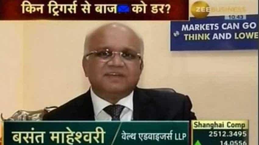 Crude is a blood pressure of market; its range sets the mood of the market: Basant Maheshwari