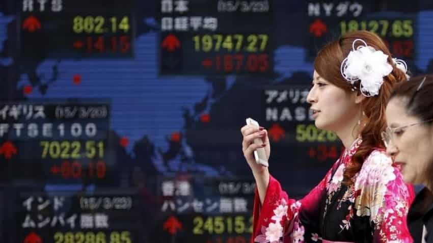 Global Markets: Asian shares blindsided by dismal China data