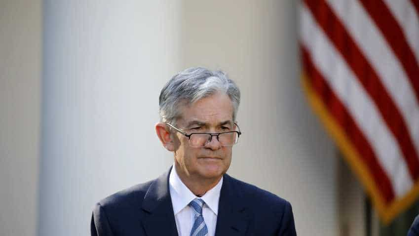 "US Fed chief Jerome Powell says ""Won't resign, will be patient"" on rates"