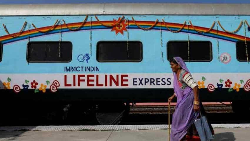 Indian Railways train Lifeline Express Not well? Need a medical doctor?