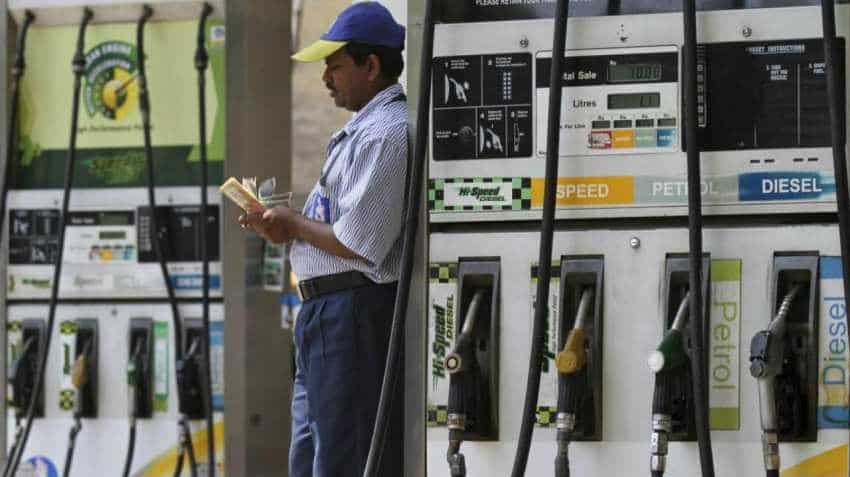 Petrol prices up 20 paise after 20-day fall