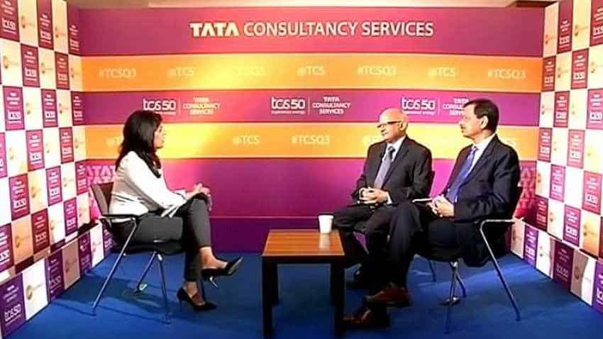We have total contract value of $5.9 billion: N Ganapathy Subramaniam, TCS
