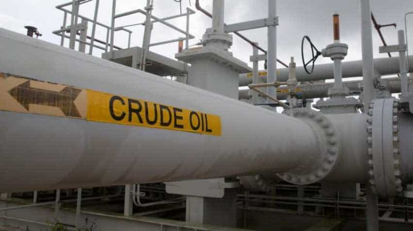 Oil prices edge down on mixed global cues