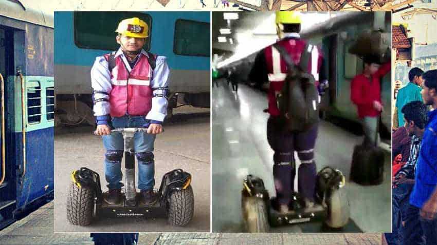 Wow! How hoverboards are helping Indian Railways trains maintain punctuality