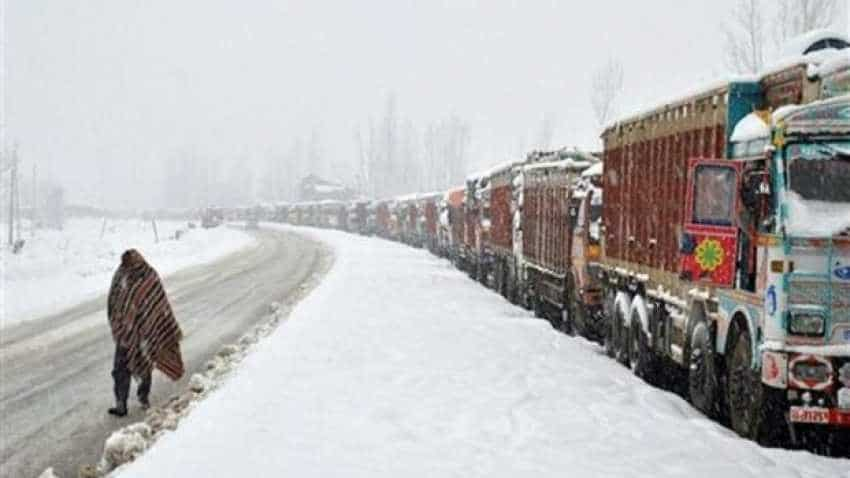 Jammu-Srinagar highway closed after avalanche hits Jawahar tunnel
