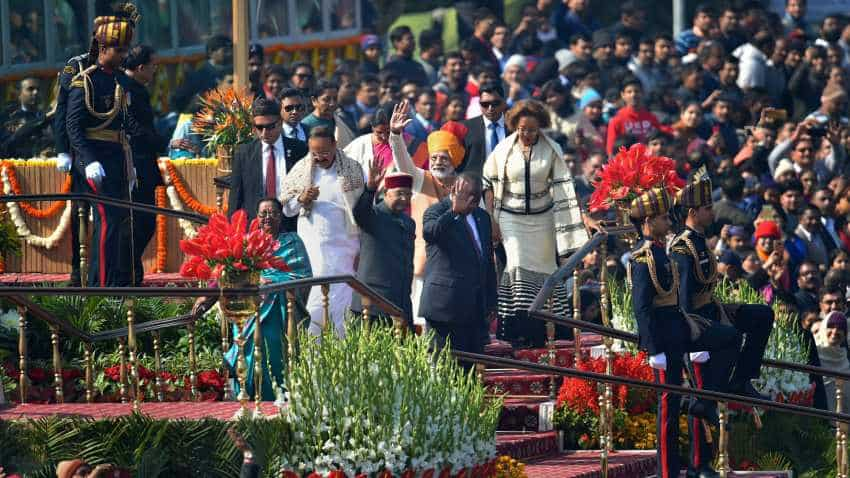 India celebrates 70th Republic Day in presence of South Africa President