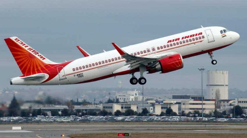 Air India inducts aircraft with Gandhiji's logo