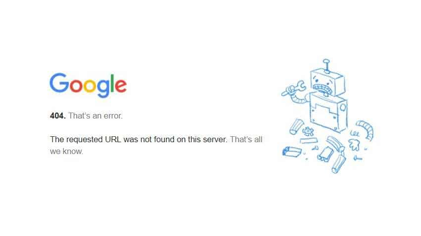 Gmail on incognito mode crashes, throws 404 error, Twitterati rage over fiasco