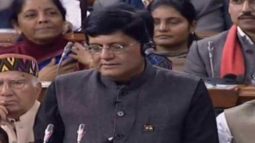 Budget 2019: FULL Text of Piyush Goyal's speech in Parliament