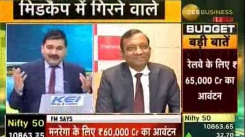 Corporate taxes will be looked on when the complete budget is presented: Pawan Goenka, M&M