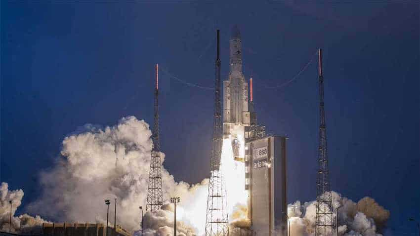 ISRO's GSAT-31 communication satellite launched successfully by Arianespace; Watch video
