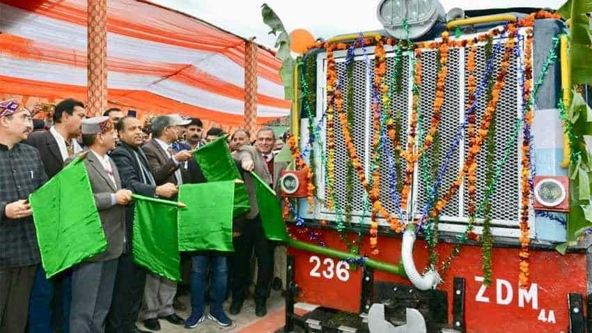 High speed train for Pathankot-Jogindernagar track