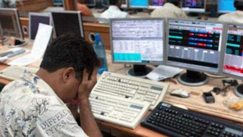 Closing bell: Sensex tanks 424 points; Nifty fails to sustain above 11,000 levels