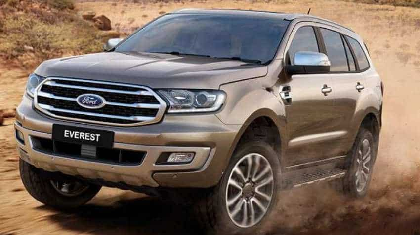 2019 Ford Endeavour launch date revealed: Check price, other details