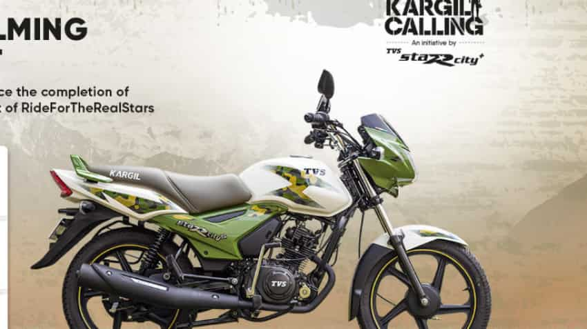 TVS launches Kargil edition of TVS Star City+: Check design, price of this limited edition bike