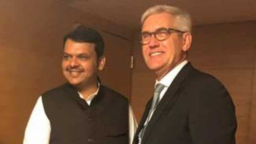 ABB CEO meets Maharashtra CM Devendra Fadnavis, discusses AI, robotics, skills development and e-mobility