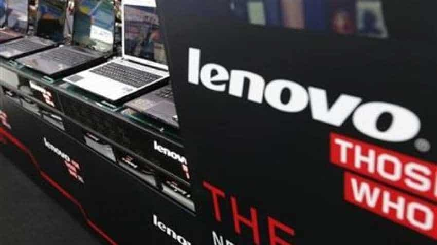 Lenovo's third-quarter profit beats expectations, powering share surge