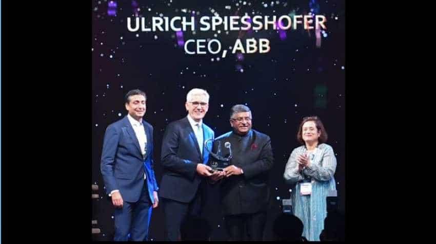 ABB Chief Executive Ulrich Spiesshofer receives NASSCOM Global CEO Award