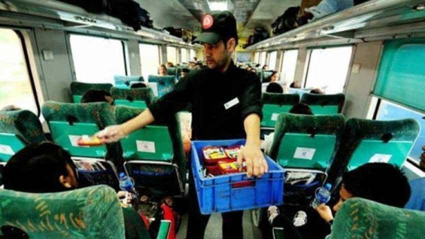Soon, food packets delivered in Indian Railways trains to come with bar code