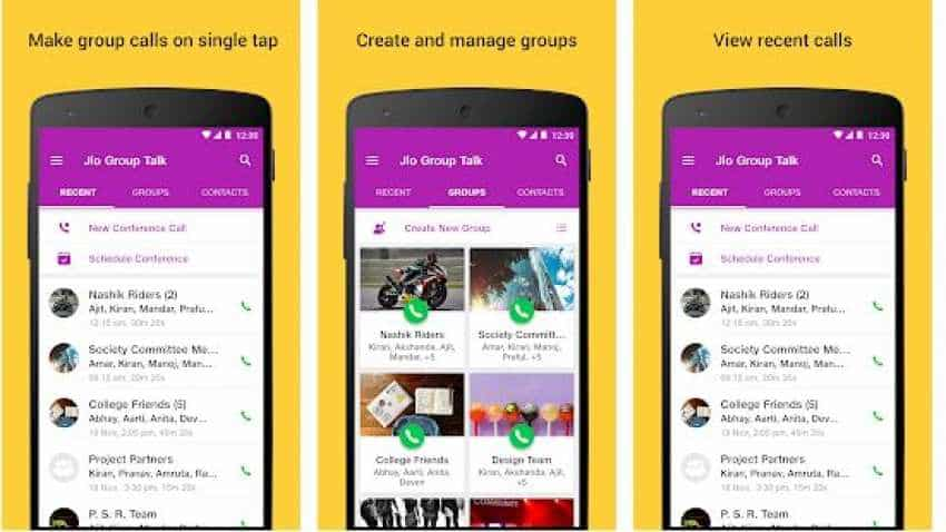 Group conference calling: Reliance Jio launches GroupTalk App for Android, iOS users