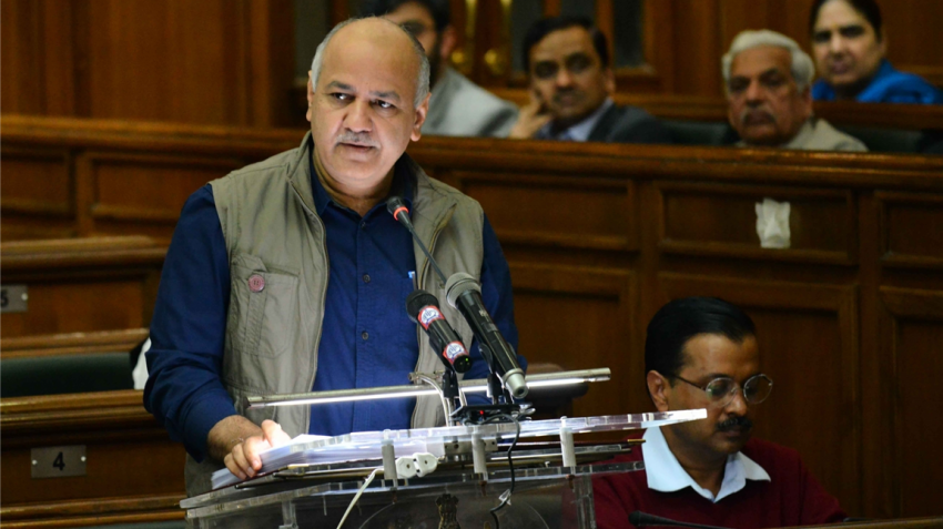 Rs 60,000 cr Delhi budget presented by Manish Sisodia