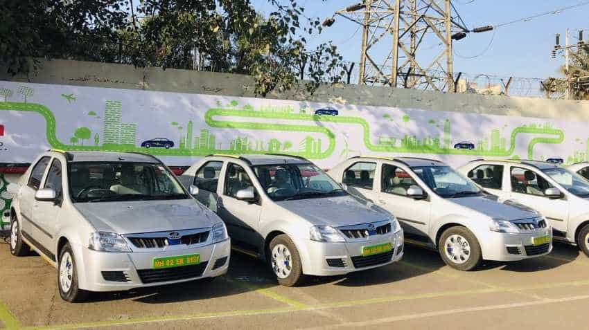 Ola, Uber rival? Mahindra enters taxi service with this electric car