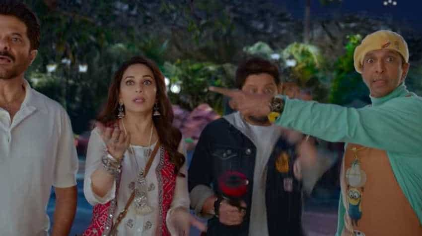 Total Dhamaal box office collection Day 9: Madhuri Dixit, Ajay Devgn, Anil Kapoor starrer likely to touch Rs 100-crore mark today