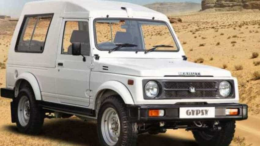 No More Gypsy! Maruti Suzuki discontinues its 33-year-old famous car