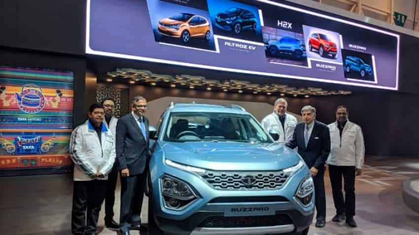 Geneva Motor Show 2019: Tata Motors preps with four new SUVs - Check pics, features.