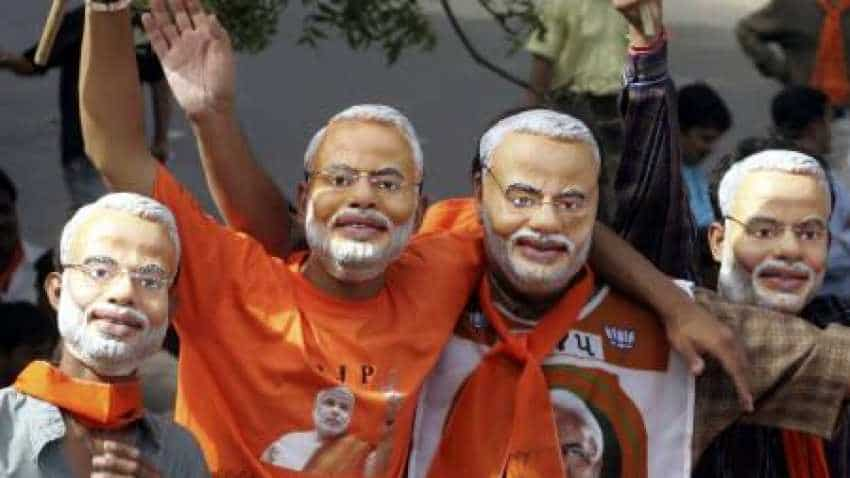 This one-stop Jaipur shop promotes Modi through varied accessories.