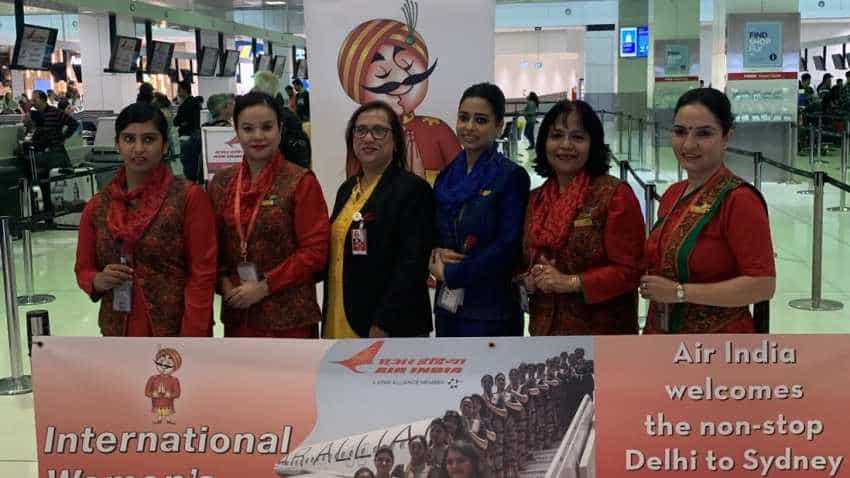 International Wpmen's Day: Air India says will operate 12 all-women crew international flights