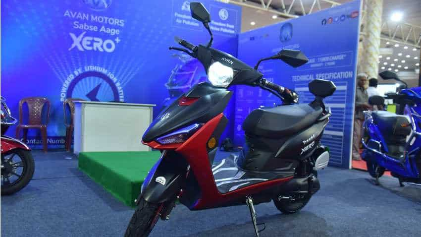Avan Trend E Electric Scooter unveiled in Bengaluru Auto Expo 2019 - From charging time to top speed, check must-know details