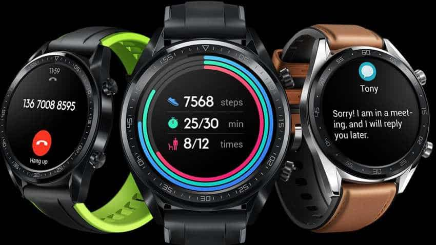 Huawei's much-awaited 'Watch GT' smartwatch is here! '14 days in 1 charge' is its USP - Check price, features and specs