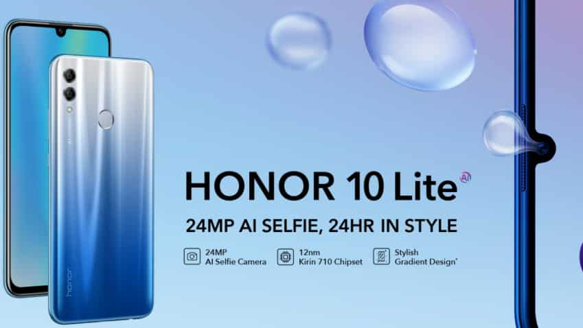 Honor's '10 Lite' launched in new storage variant