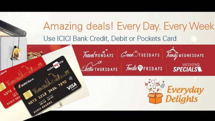 ICICI Bank Debit, Credit Card holder? Do you know you can avail exciting offers, discounts every day