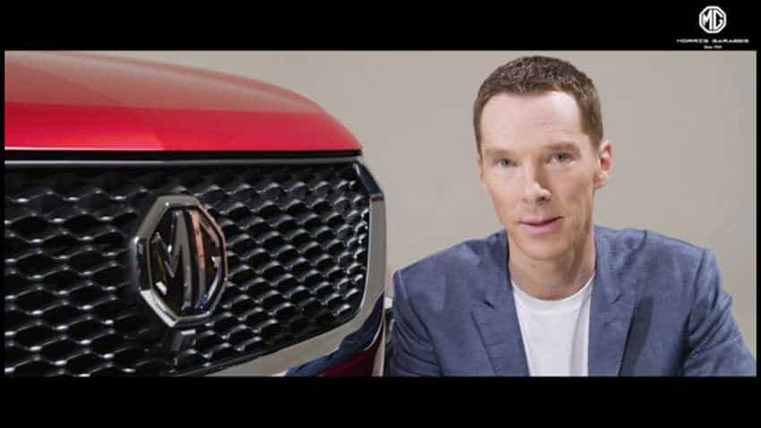 Guess what! Ahead of SUV HECTOR launch in India, MG Motor hires Sherlock Holmes fame actor Benedict Cumberbatch as brand ambassador