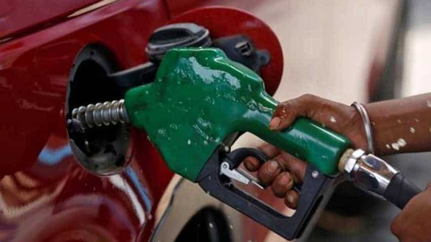 Petrol prices rise, diesel remains unchanged