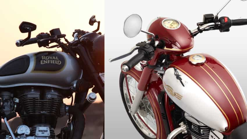 Eicher Motors shares drop by Rs 360 -  Is it due to Jawa vs Royal Enfield battle?