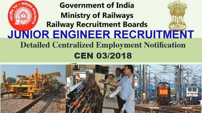 RRB Junior Engineer Recruitment: JE, JEIT application status link active now, check yours here