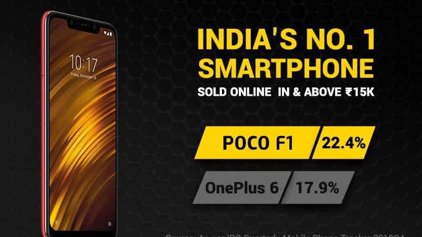 Xiaomi Poco F1 beats OnePlus 6, becomes most sold smartphone in India online