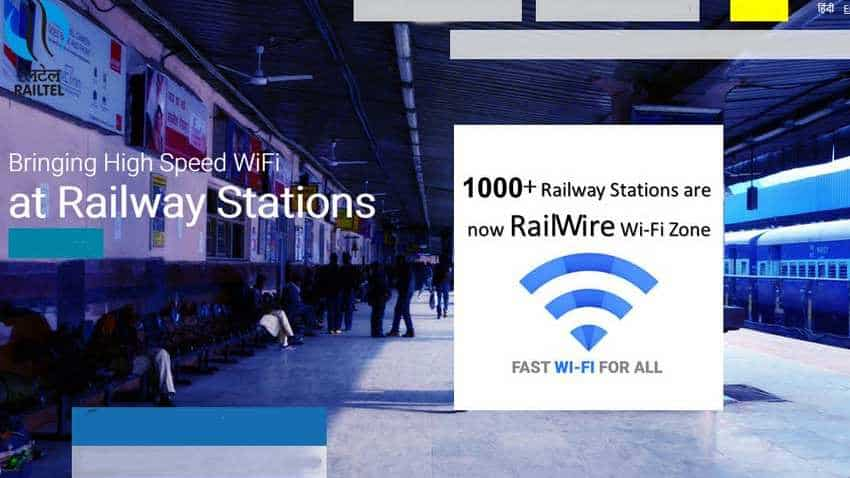 Visiting Indian Railway stations? Here's how you can use free WiFi to watch videos, surf internet