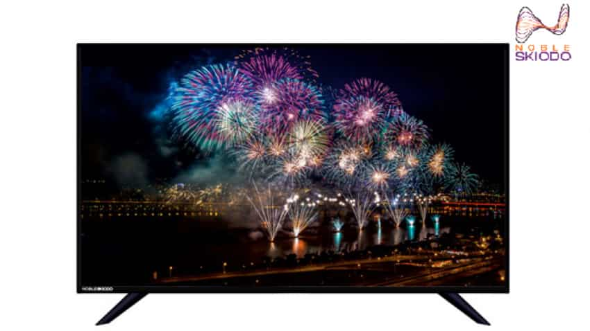 8fc104df3 LED TV at price of smartphone! Noble Skiodo Televisions launched in ...